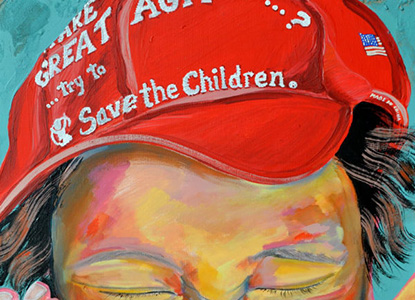 Save the Children  24X30